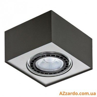 Azzardo Paulo 1 (GM4107-230V BK/ALU LED 15W WITH DIM)