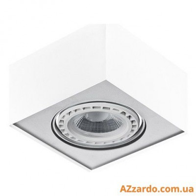 Azzardo Paulo 1 (GM4107-230V WH/ALU LED 15W WITH DIM)