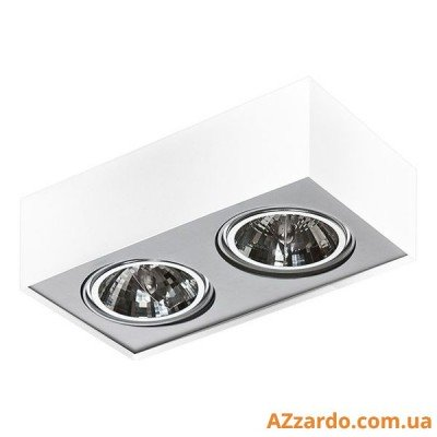 Azzardo Paulo 2 (GM4203-230V WH/ALU LED 15W WITH DIM)
