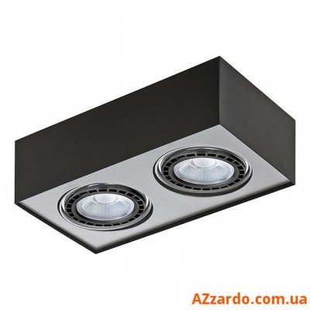 Azzardo Paulo 2 230V LED 16W Paulo 230V LED 16W (GM4203 BK/ALU 230V LED 16W)