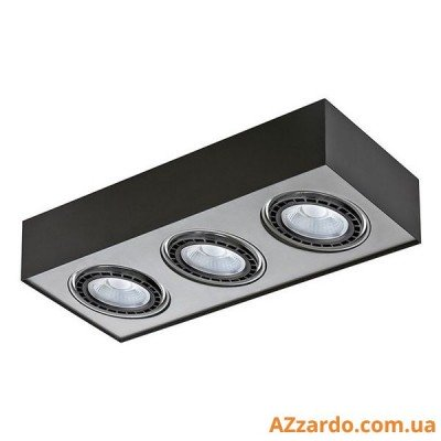 Azzardo Paulo 3 (GM4301-230V BK/ALU LED 15W WITH DIM)
