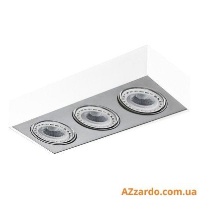 Azzardo Paulo 3 (GM4301-230V WH/ALU LED 15W WITH DIM)