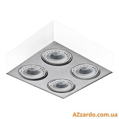 Azzardo Paulo 4 (GM4400-230V WH/ALU LED 15W WITH DIM)