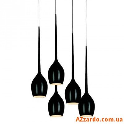Azzardo Izza 5 (MD 1288A-5BL SHINY BLACK)