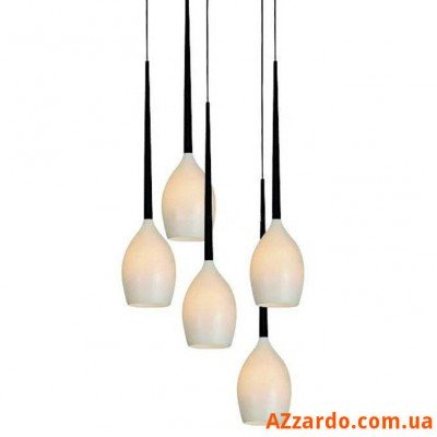 Azzardo Izza 5 (MD 1288A-5W SHINY WHITE)