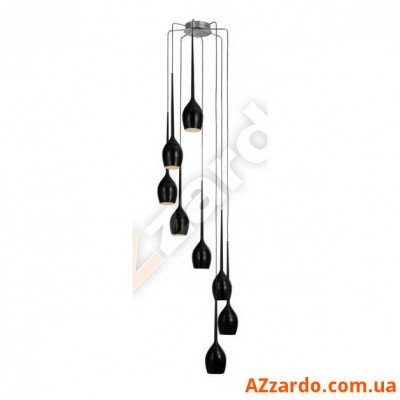 Azzardo Izza 8 (MD 1288A-8BL SHINY BLACK)