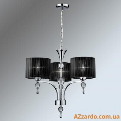 Azzardo Impress 3 Pendant (1976-3P BLACK)