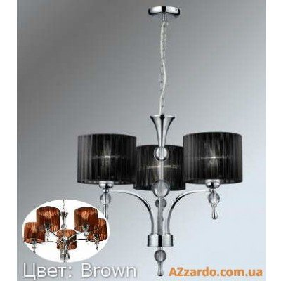 Azzardo Impress 3 Pendant (1976-3P BROWN)