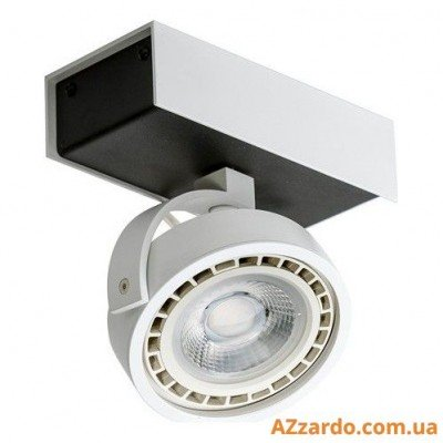 Azzardo Max 1 (GM4114-230V WH/BK LED 15W WITH DIM)