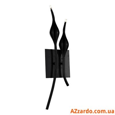 Azzardo Snake Wall (MB6219-2B BLACK)
