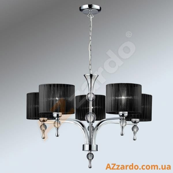 Azzardo Impress 5 Pendant (1976-5P BLACK)