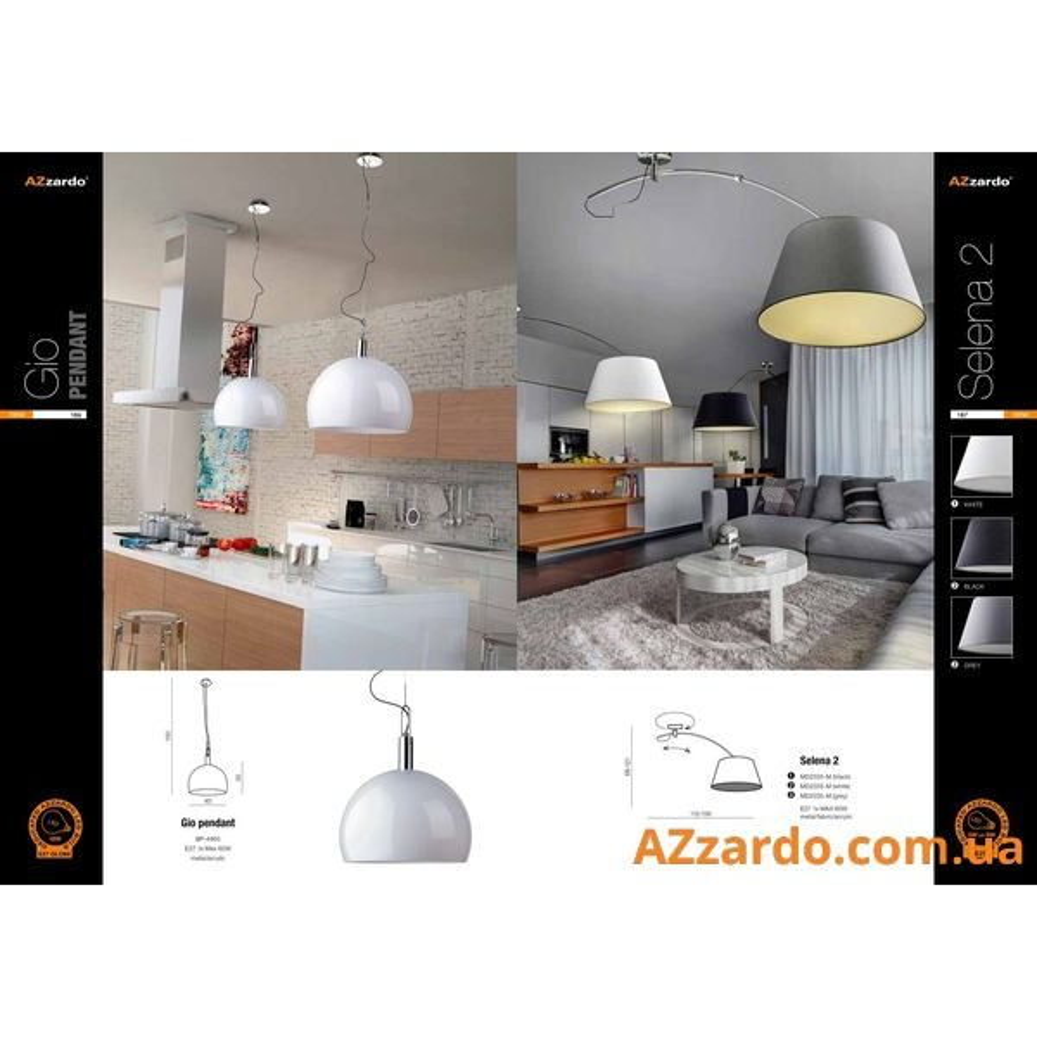 Azzardo Selena 2 (MD2335-M BK)