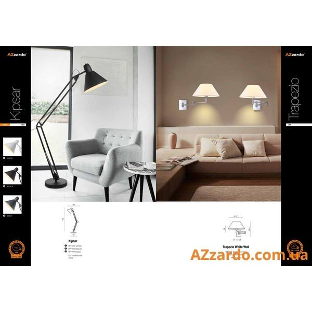 Azzardo Kipsar (BP-9482-BK)