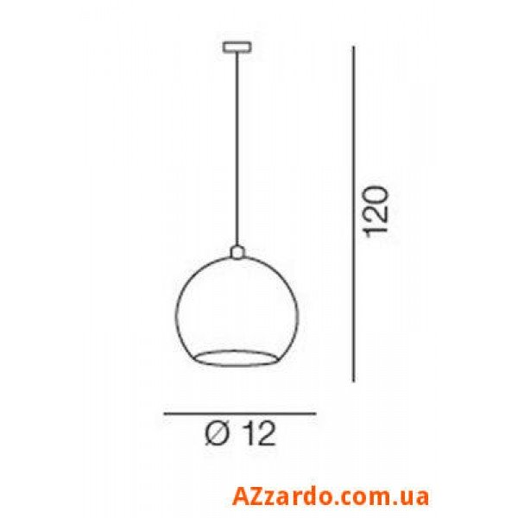 Azzardo Gulia 1 (FH5951-BCB-120 CHROM)