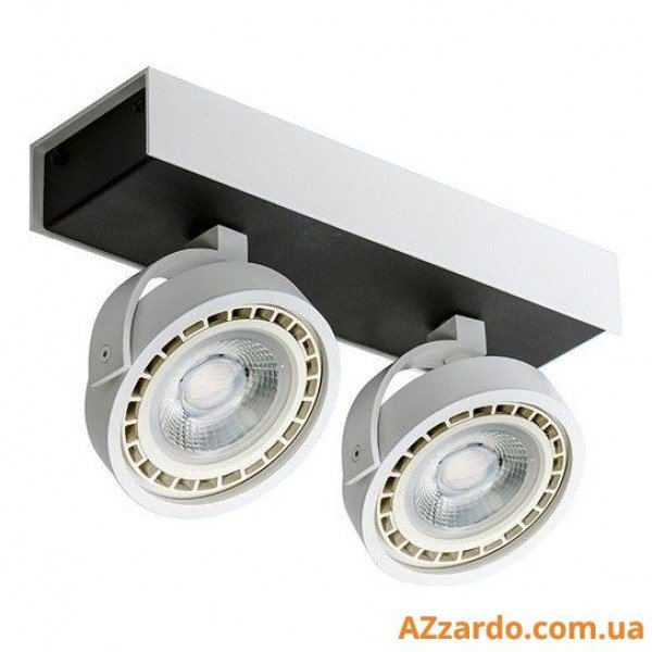 Azzardo Max 2 (GM4206-230V WH/BK LED 15W WITH DIM)