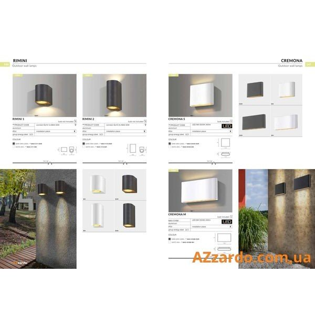 Azzardo Rimini 2 (MAX-1172-WH)